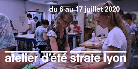 L'ATELIER D'ÉTÉ À STRATE ECOLE DE DESIGN LYON - 2 SEMAINES À MI-JUILLET 2020 billets