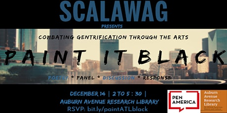 Paint It Black: combating gentrification through the arts tickets