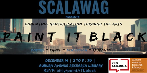 Paint It Black: combating gentrification through the arts