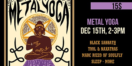 Metal Yoga tickets