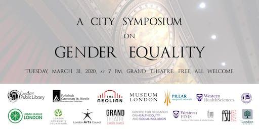 City Symposium: Gender Equality
