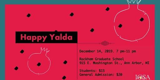 Iranian Graduate Students Association Yalda Night