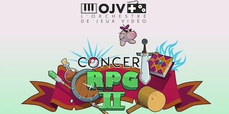 Concert RPG II billets