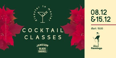 DISASTER TO MASTER | COCKTAIL CLASSES 4.3 (XMAS COCKTAILS)