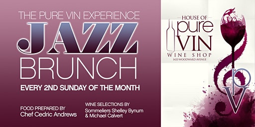 The Pure Vin Exp Jazz Brunch w/ Mario Sulaksana Grp & Chef Cedric Andrews