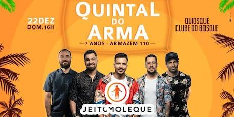 Quintal do Arma #7AnosArmazem110 ingressos