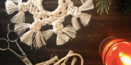 Wine & Design: Macrame Ornament