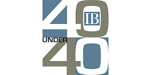 40 Under 40 Reception