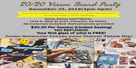 Vision Board Party for the New Year 2020 tickets