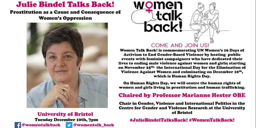 Julie Bindel Talks Back!