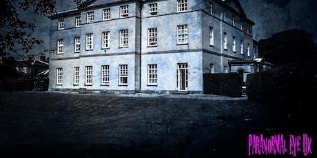 Strelley Hall Nottingham Ghost Hunt Paranormal Eye UK tickets