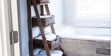 Build your own ladder shelf