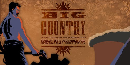 BIG COUNTRY Live in Innerleithen