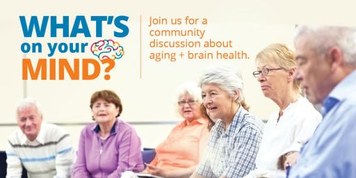 Innovation Showcase and Discussion on Aging + Brain Health:  Scarborough