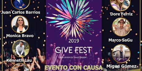Give Fest México 2019 boletos