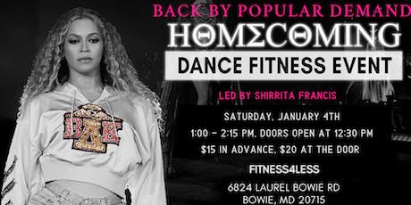 "Sunshine Fitness Presents ""HOMECOMING II"" tickets"