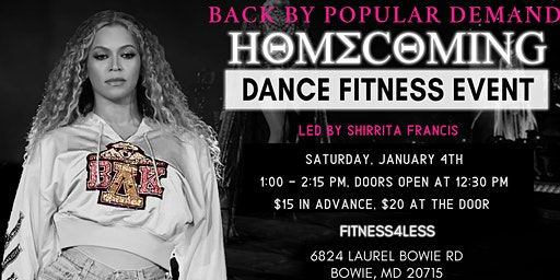 "Sunshine Fitness Presents ""HOMECOMING II"""