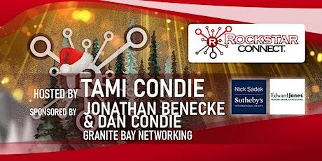 Free Granite Bay Rockstar Connect Networking Event (December, near Sacramento) tickets