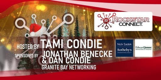 Free Granite Bay Rockstar Connect Networking Event (December, near Sacramento)