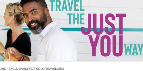 Just You - Solo Tours for Solo Travelers tickets