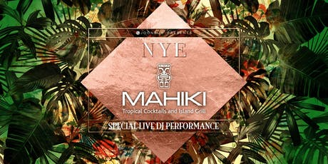 Mahiki Mayfair New Years Eve Party 2020 tickets