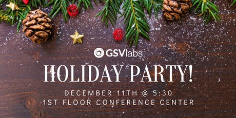 GSVlabs Community Holiday Party! tickets