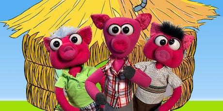 Puppet Art Theater's 3 Little Pigs  tickets