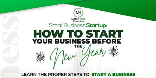 How to Start Your Business Before the New Year
