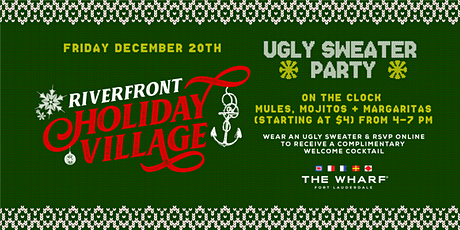 Ugly Sweater Party, Riverfront Holiday Village tickets