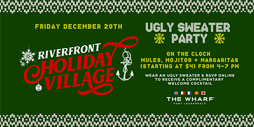 Ugly Sweater Party, Riverfront Holiday Village