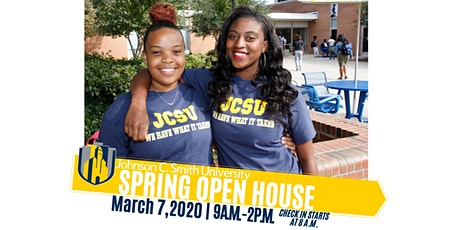 Johnson C. Smith Spring Open House tickets