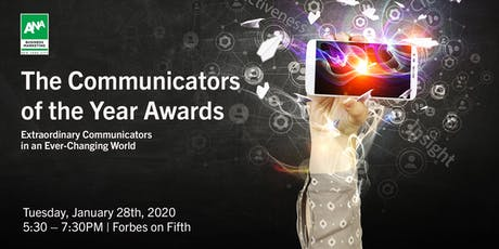 The 2019 Communicators of the Year Awards tickets