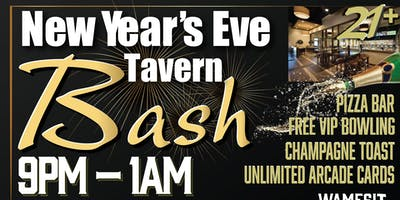 Wamesit Lanes New years eve Bash 21+