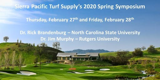 Sierra Pacific Turf Supply 2020 Spring Symposium