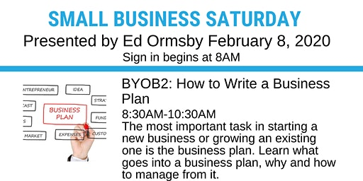 BYOB2: How to Write a Business Plan