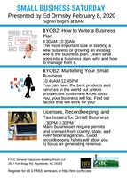BYOB2: Marketing Your Small Business