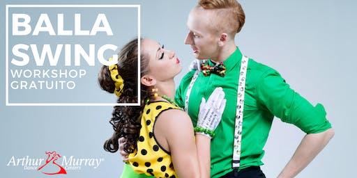 Workshop Gratuito - Balla Swing e Lindy Hop