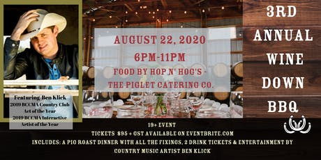 3rd Annual Wine Down BBQ tickets