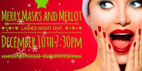 Merry Masks and Merlot tickets