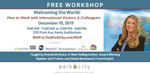 Welcoming the World - How to Work with International Visitors & Colleagues