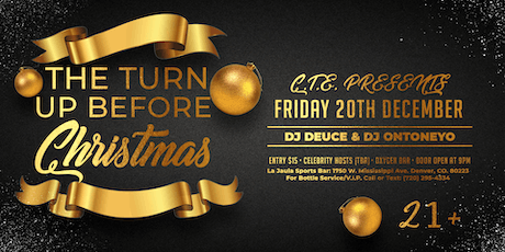 Crazy Town Entertainment Presents: The Turn up Before Christmas tickets