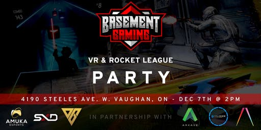 VR and Rocket League Party *POSTPONED*