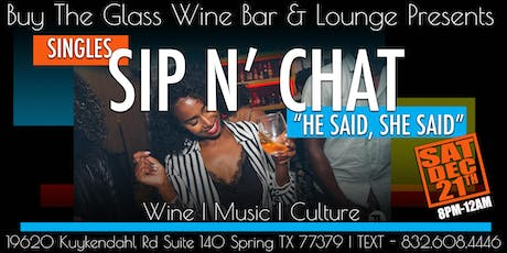 Sip n' Chat | Wine & Live Music Mixer tickets