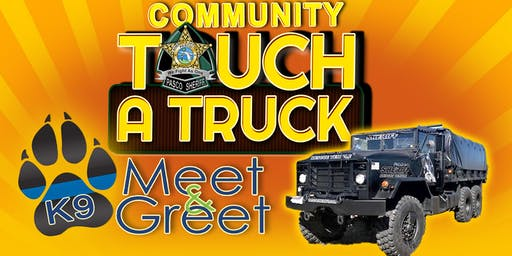 Pasco Sheriff's Touch a Truck & K9 Meet and Greet Event