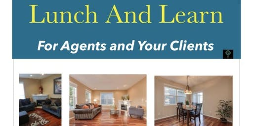 Lunch & Learn for  Real estate agents
