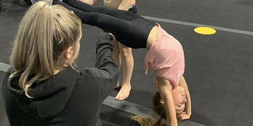 Back Handspring Workshop - Saturday 25th January. 1:30-3:00
