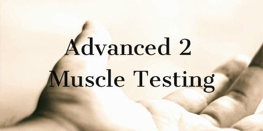 Muscle Testing for the Healthcare Practitioner Advanced 2