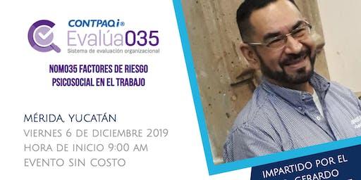 CONFERENCIA: NOM035 FACTORES DE RIESGO PSICOSOCIAL EN EL TRABAJO