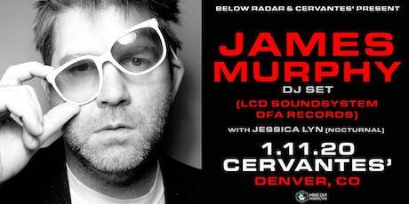 James Murphy DJ set (LCD Soundsystem / DFA) tickets