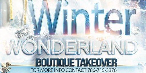 Winter Wonderland Boutique Take Over